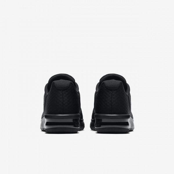 Nike Air Max Sequent 2 Laufschuhe Jungen Schwarz 670-45621