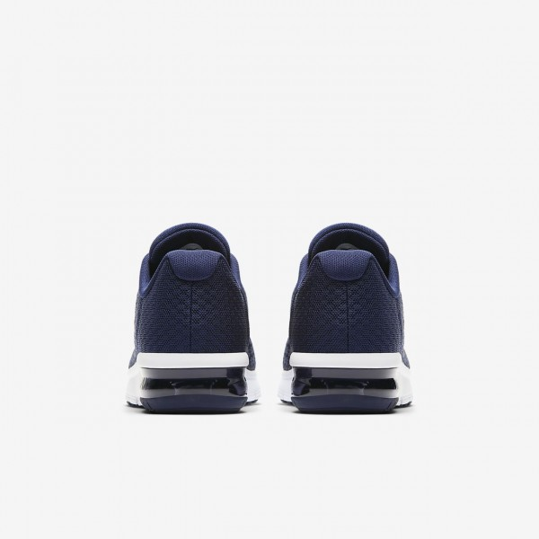 Nike Air Max Sequent 2 Laufschuhe Jungen Blau Dunkelobsidian Navy Dunkelgrau 821-33709