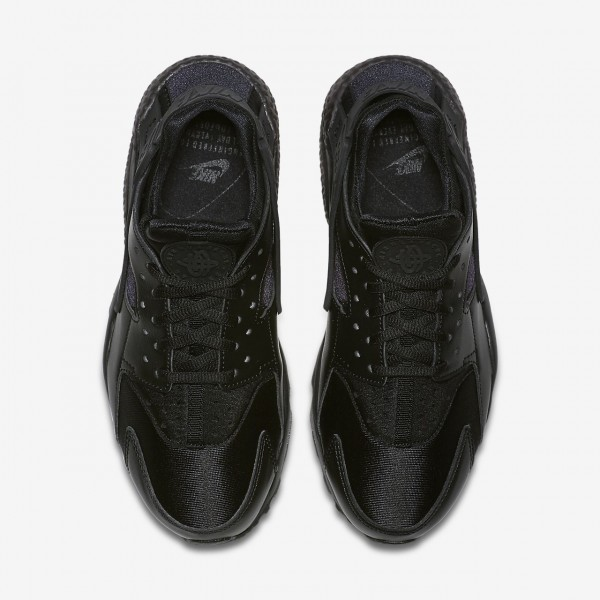 Nike Air Huarache Freizeitschuhe Damen Schwarz 908-25799