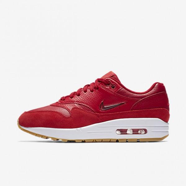 Nike Air Max 1 Premium Sc Freizeitschuhe Damen Rot...