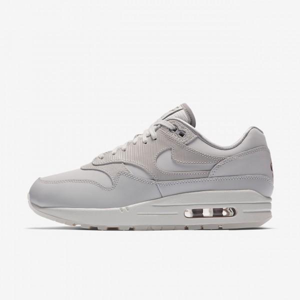 Nike Air Max 1 Premium Freizeitschuhe Damen Grau W...