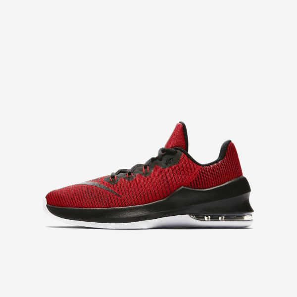 Nike Air Max Infuriate II Basketballschuhe Jungen Rot Weiß Schwarz 502-80956