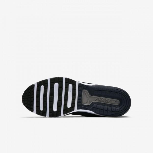 Nike Air Max Fury Laufschuhe Jungen Obsidian Tiefes Königsblau Blau Platin Dunkelgrau 732-84214