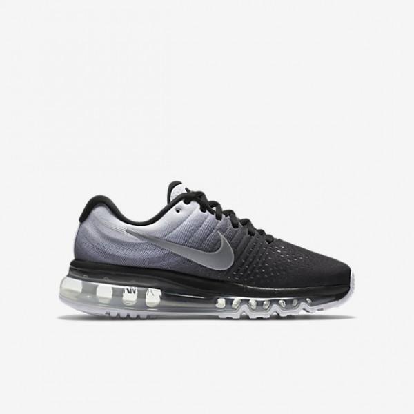 Nike Air Max 2017 Laufschuhe Jungen Schwarz Weiß 609-67202