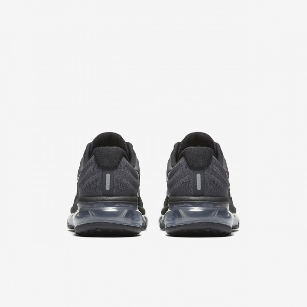 Nike Air Max 2017 Laufschuhe Jungen Schwarz Metallic Silber Weiß 904-75988