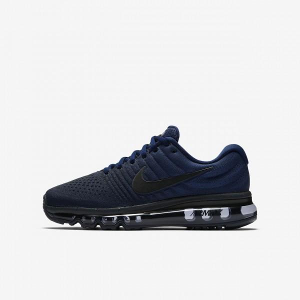 Nike Air Max 2017 Laufschuhe Jungen Blau Obsidian ...