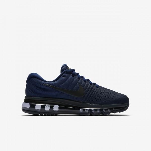 Nike Air Max 2017 Laufschuhe Jungen Blau Obsidian Schwarz 764-55033