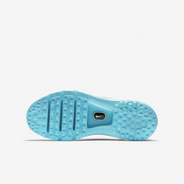 Nike Air Max 2017 Laufschuhe Jungen Blau Metallic Silber 251-72831