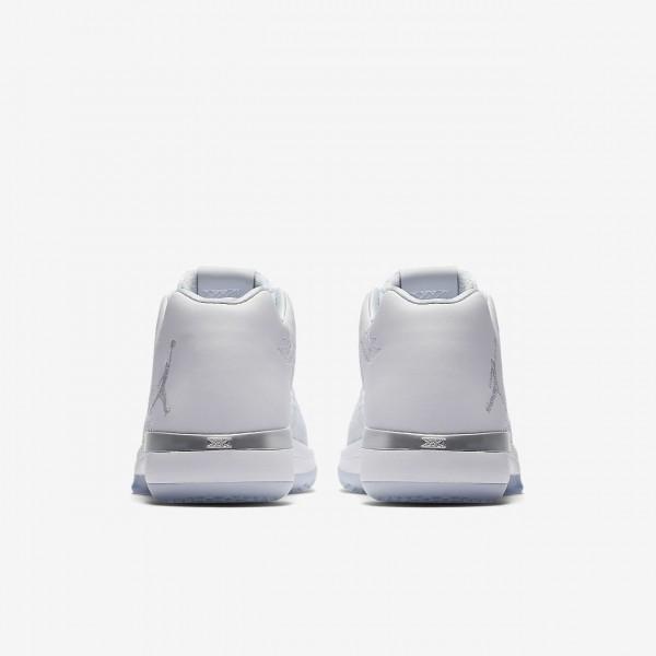 Nike Air Jordan XXXI low Basketballschuhe Jungen Weiß Metallic Silber Platin 263-27098