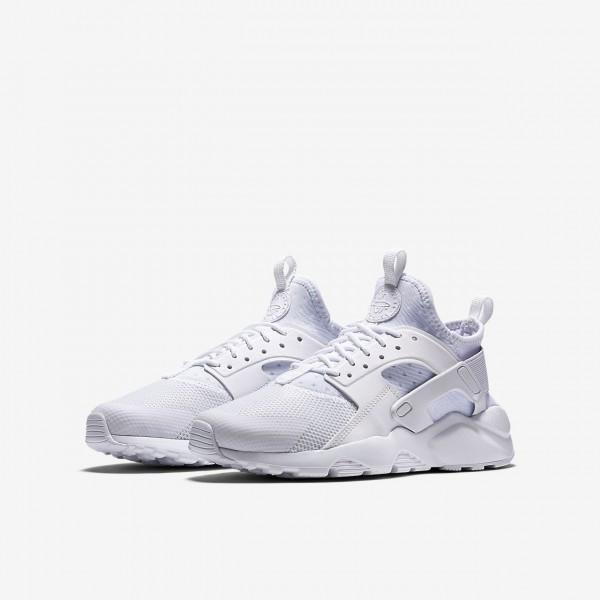 Nike Air Huarache Ultra Freizeitschuhe Jungen Weiß 788-47395