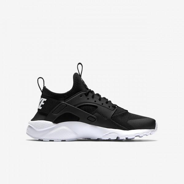 Nike Air Huarache Ultra Freizeitschuhe Jungen Schwarz Weiß 595-99632