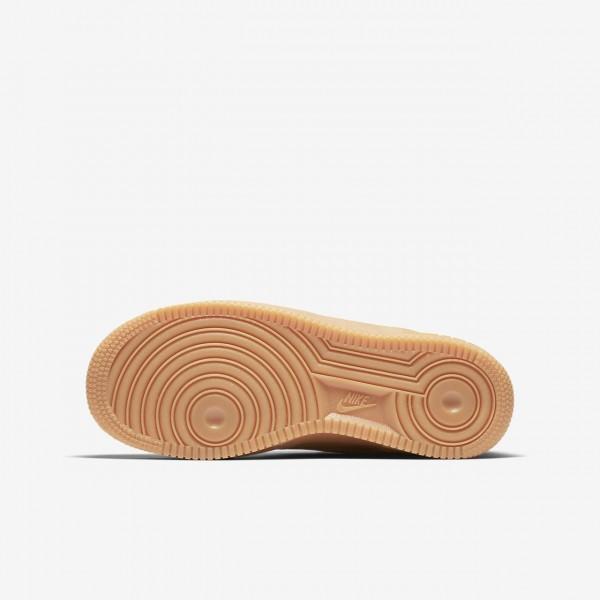 Nike Air Force 1 Winter Premium Freizeitschuhe Jungen Grün Hellbraun 397-61587
