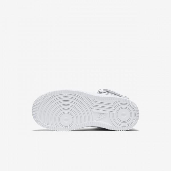 Nike Air Force 1 Mid Freizeitschuhe Jungen Weiß 605-80436