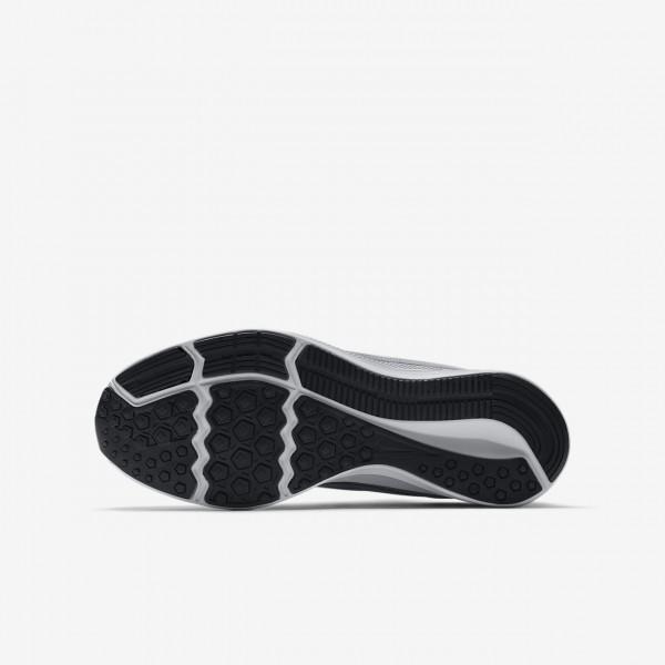 Nike Downshifter 8 Laufschuhe Mädchen Hellgrau Weiß Metallic Silber 284-33566