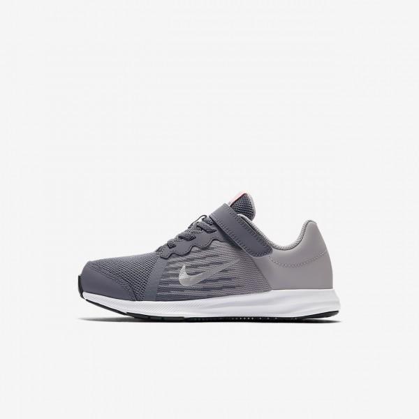 Nike Downshifter 8 Laufschuhe Mädchen Hellgrau We...