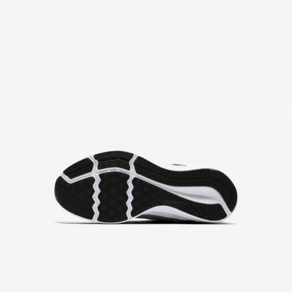 Nike Downshifter 8 Laufschuhe Mädchen Hellgrau Weiß Metallic Silber 187-84359