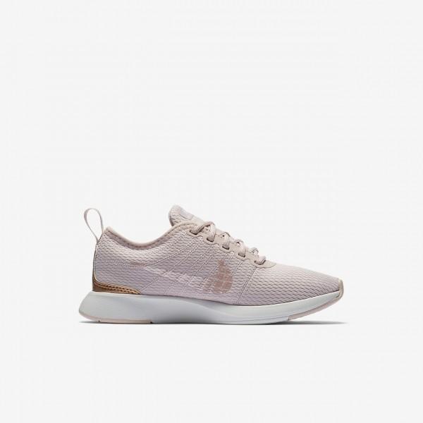 Nike Dualtone Racer Freizeitschuhe Mädchen Rosa Metallic Rot Bronze 826-90320