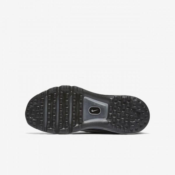 Nike Air Max 2017 Laufschuhe Mädchen Schwarz Metallic Silber Weiß 826-51595
