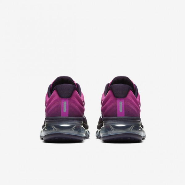 Nike Air Max 2017 Laufschuhe Mädchen Lila Pink Weiß Schwarz 115-85001