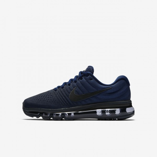 Nike Air Max 2017 Laufschuhe Mädchen Blau Obsidia...