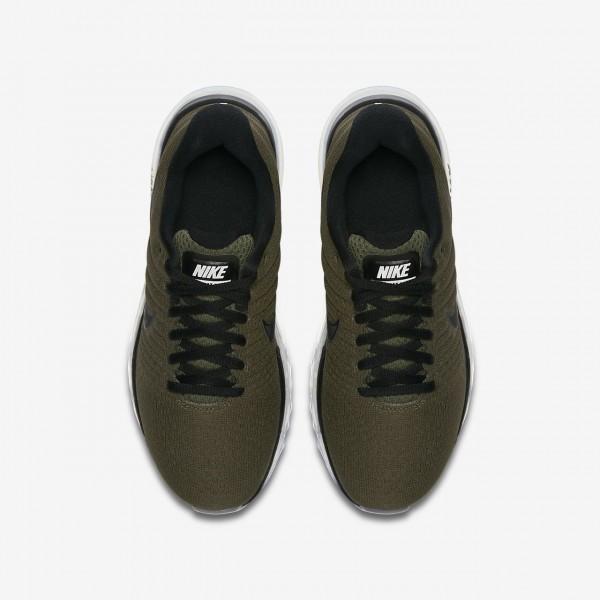 Nike Air Max 2017 Laufschuhe Mädchen Khaki Schwarz 105-14713