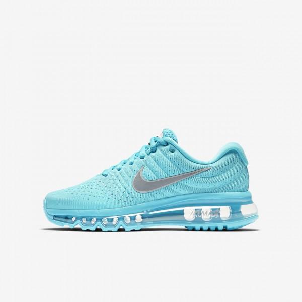 Nike Air Max 2017 Laufschuhe Mädchen Blau Metalli...