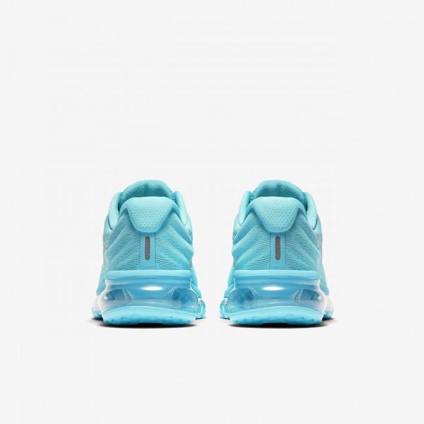 Nike Air Max 2017 Laufschuhe Mädchen Blau Metallic Silber 525-98195