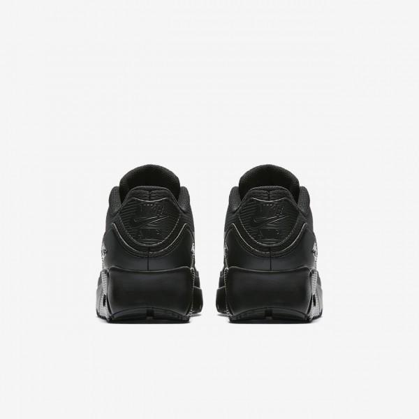 Nike Air Max 90 Ultra 2.0 Freizeitschuhe Mädchen Schwarz Weiß 375-29468
