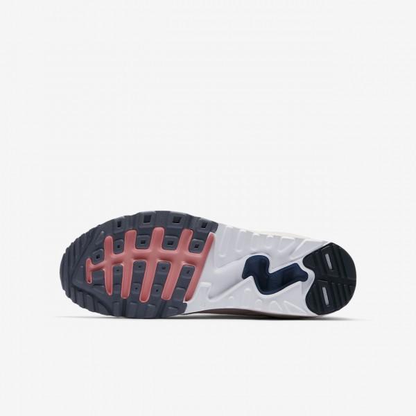 Nike Air Max 90 Ultra 2.0 Freizeitschuhe Mädchen Rosa Obsidian Hellgrau 526-36589
