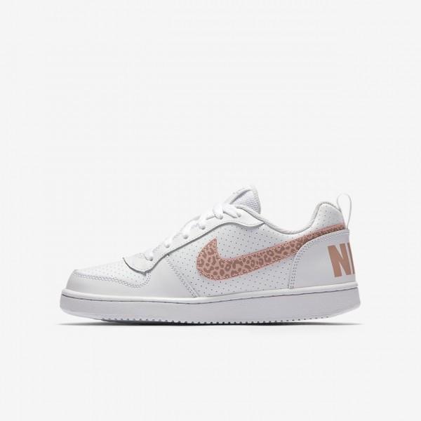 Nike Court Borough low Freizeitschuhe Mädchen Wei...