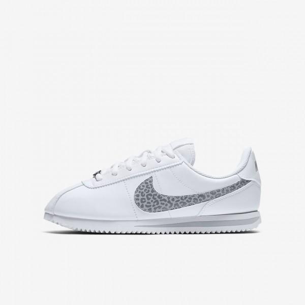 Nike Cortez Basic Sl Freizeitschuhe Mädchen Weiß...