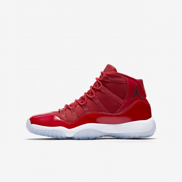 Nike Air Jordan XI Retro Three-quarter Outdoor Sch...