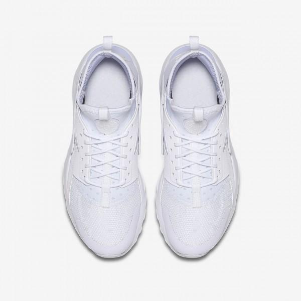 Nike Air Huarache Ultra Freizeitschuhe Mädchen Weiß 232-75940