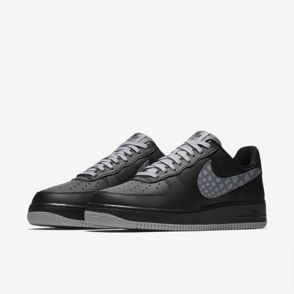 Nike Air Force 1 low 07 Lv8 Freizeitschuhe Herren Schwarz Hellbraun Weiß 377-77861
