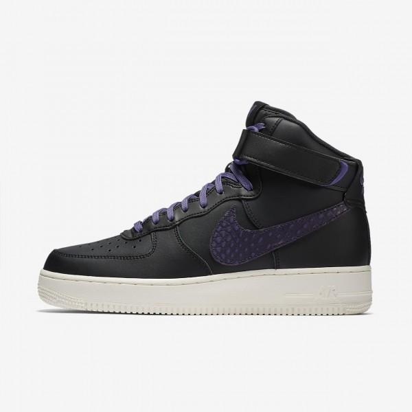 Nike Air Force 1 high 07 Lv8 Freizeitschuhe Herren Schwarz Weiß Lila 226-75511