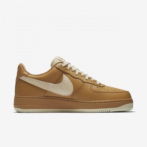 Nike Air Force 1 low 07 Lv8 Freizeitschuhe Herren Gold Beige 777-69104