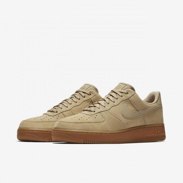 Nike Air Force 1 07 Lv8 Suede Freizeitschuhe Herren Beige Braun 433-63481