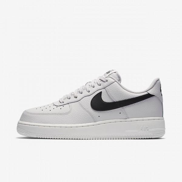 Nike Air Force 1 07 Freizeitschuhe Herren Grau Weiß Schwarz 543-36285