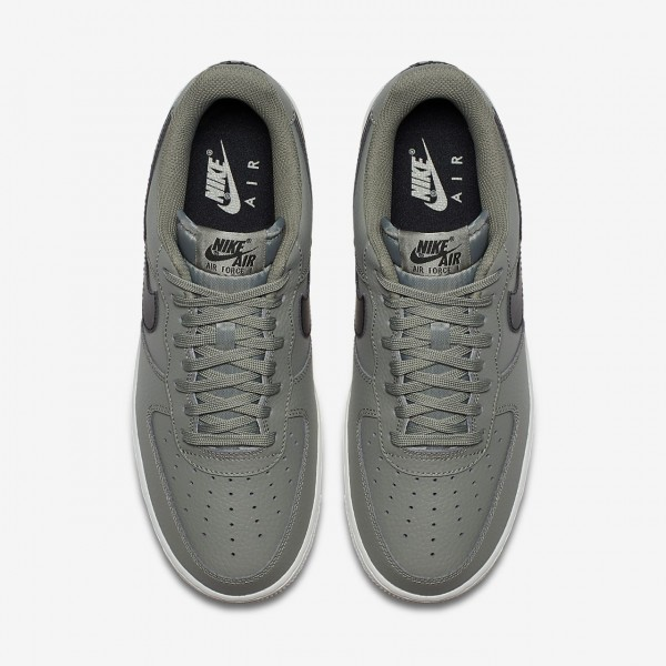 Nike Air Force 1 07 Freizeitschuhe Herren Dunkelolive Weiß Schwarz 740-29174