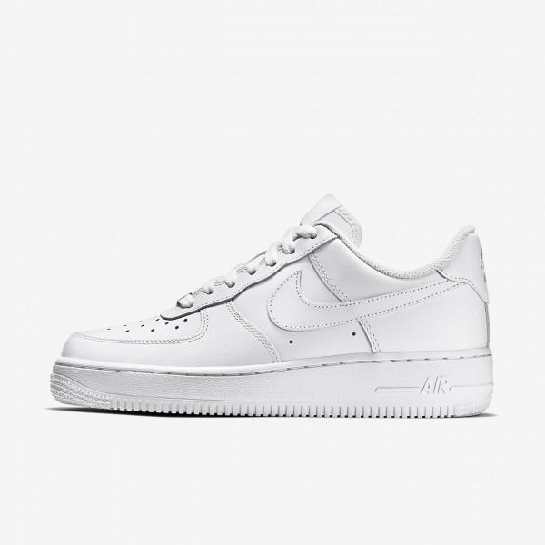 Nike Air Force 1 \'07 Freizeitschuhe Damen Weiß 8...