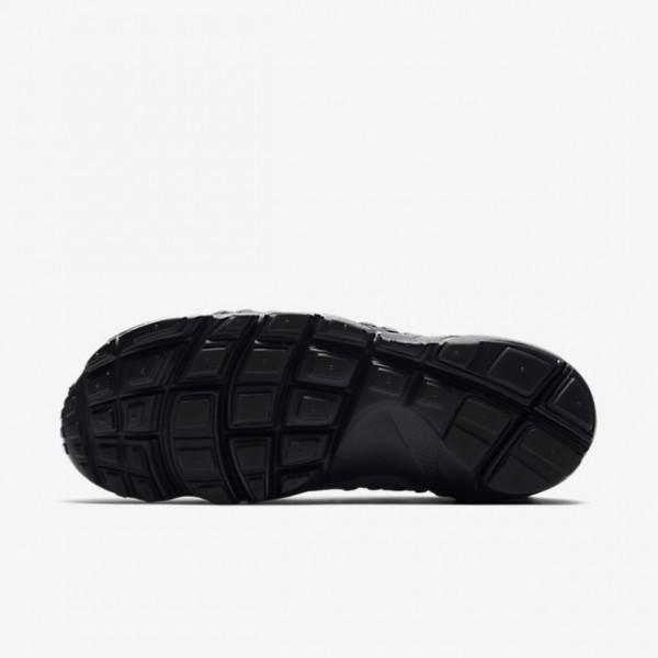 Nike Air Footscape Woven Freizeitschuhe Damen Grau Schwarz 243-23493