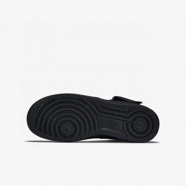 Nike Air Force 1 Mid 06 Freizeitschuhe Jungen Schwarz 136-38201