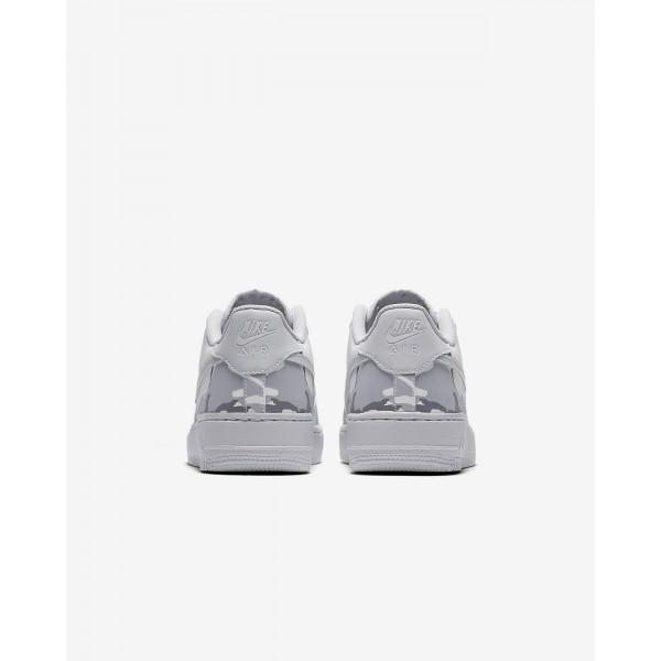 Nike Air Force 1 Lv8 Freizeitschuhe Jungen Weiß Grau Platin 307-26845