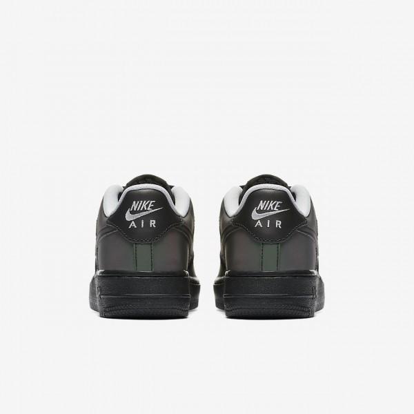 Nike Air Force 1 Lv8 Freizeitschuhe Jungen Schwarz Grau 855-99601