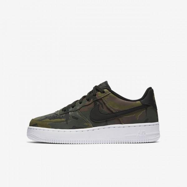 Nike Air Force 1 Lv8 Freizeitschuhe Jungen Olive B...