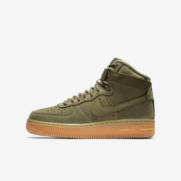 Nike Air Force 1 high Wb Freizeitschuhe Jungen Oli...
