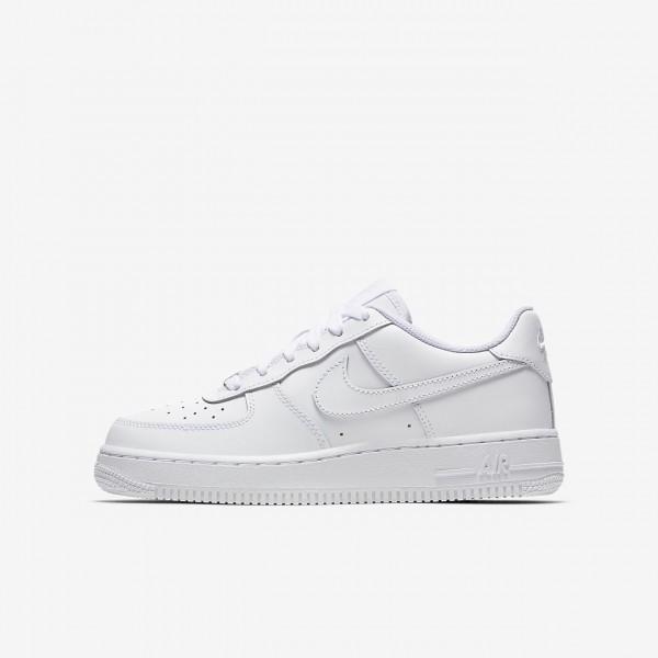 Nike Air Force 1 Freizeitschuhe Jungen Weiß 893-1...