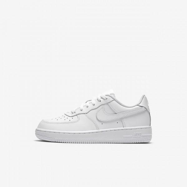 Nike Air Force 1 Freizeitschuhe Jungen Weiß 312-6...