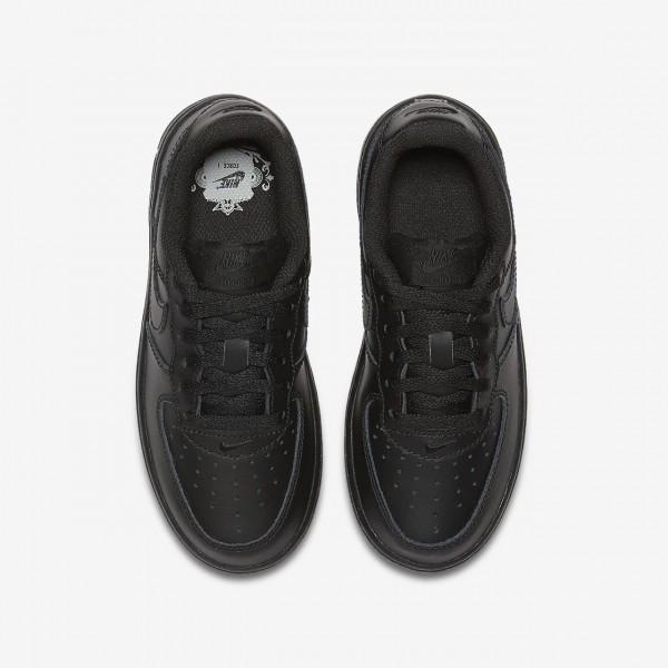 Nike Air Force 1 Freizeitschuhe Jungen Schwarz 540-60277
