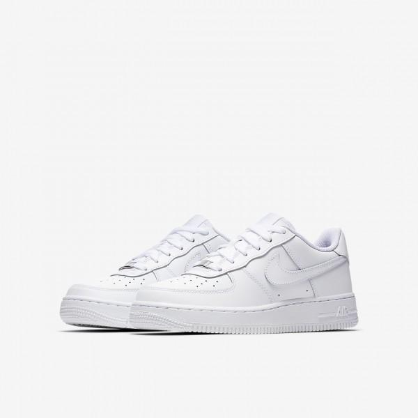Nike Air Force 1 Freizeitschuhe Jungen Weiß 893-12851
